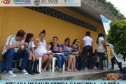 BRIGADA DE SALUD EN LA VEREDA CANCUENA DEL MUNICIPIO DE LA PEÑA