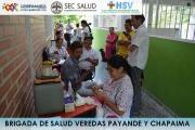 BRIGADA DE SALUD VEREDAS PAYANDE Y CHAPAIMA