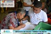BRIGADA DE SALUD EN LA VEREDA MAVE 2018