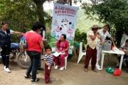 BRIGADA DE SALUD EN LAS VEREDAS DE CHAPAIMA Y LA BOLSA