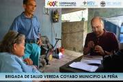 BRIGADA DE SALUD EN LA VEREDA COYABO MUNICIPIO DE LA PEÑA