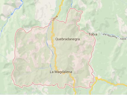 mapa Bagazal