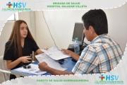 Brigada de Salud Quebradanegra- Febrero 2020